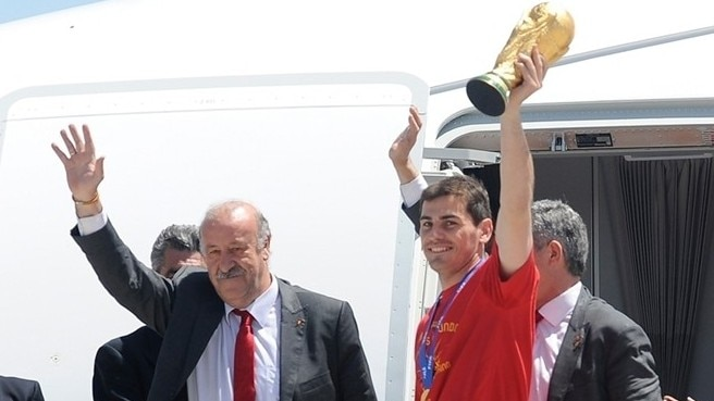 Vicente del Bosque & Iker Casillas (Spain)