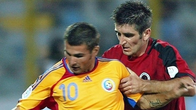 Romania three-men down for Albania game