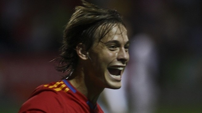 Canales double earns Spain the points