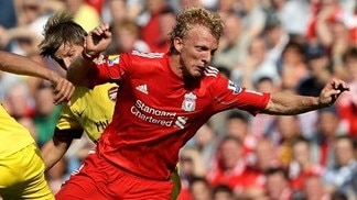 Liverpool lose injured Kuyt for four weeks