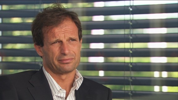 Allegri takes centre stage at Milan