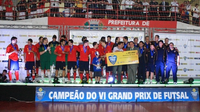 Spain end Brazil run to win futsal Grand Prix