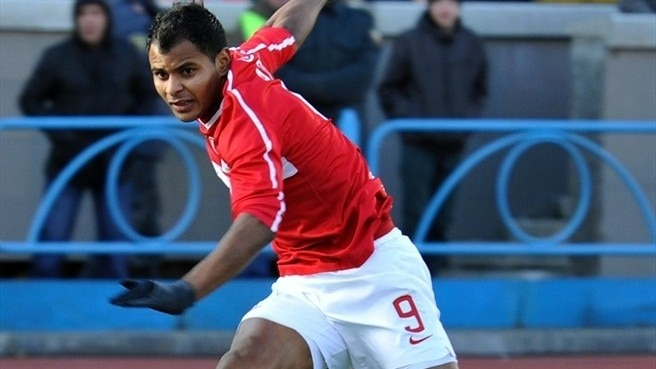 Spartak missing striker Ari