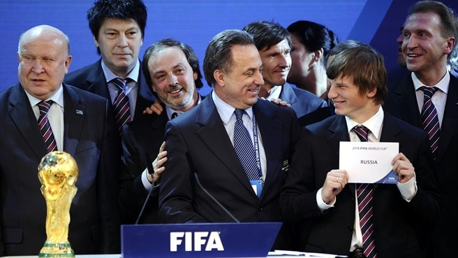 The 2018 FIFA World Cup finals will be hosted by Russia after a vote by the