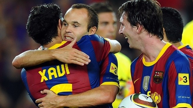 Xavi, Iniesta, Messi nominated for Ballon d'Or