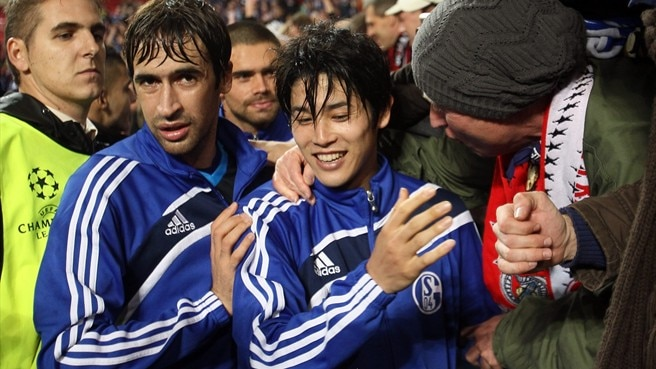 Uchida impressed by Schalke fans' passion