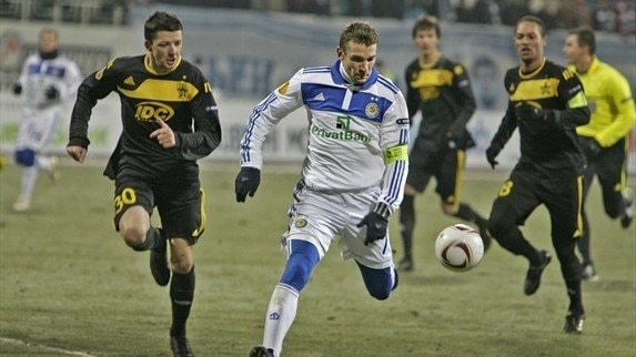 Dynamo Kyiv - Sheriff reaction