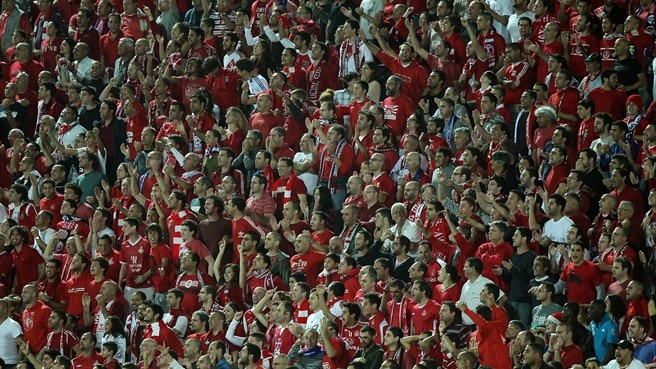 Home advantage for Hapoel against Rapid