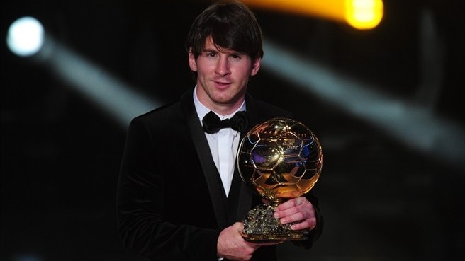 Messi surprised at winning world award