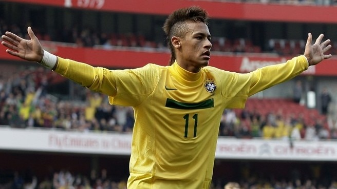Scotland go down to Neymar double