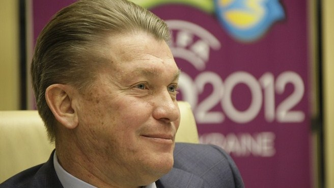 Blokhin bullish about Ukraine's EURO prospects