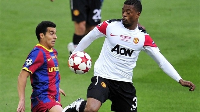 Evra gives credit to Barcelona