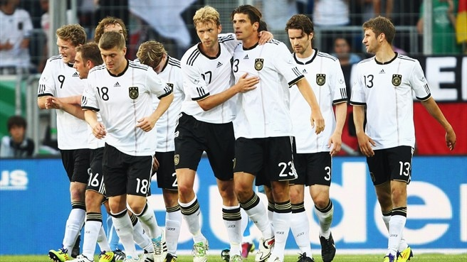 Germany get better of Uruguay again