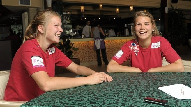 Hegerberg sisters unite for Norway success