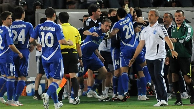 Metalurgi and Dinamo Tbilisi do Georgia proud
