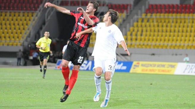 Polished Partizan prevail against Shkëndija