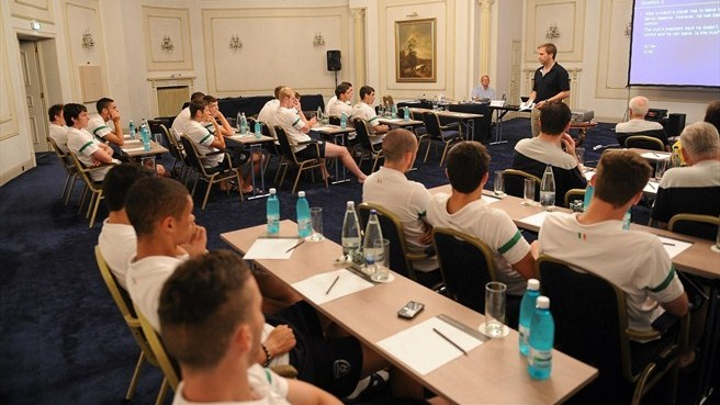 U19s warned that doping can harm careers