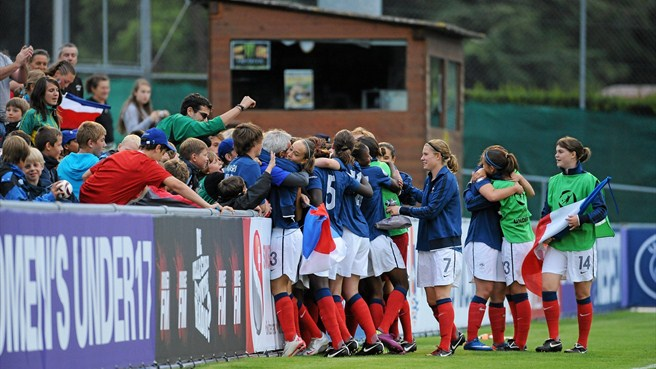 France determined to attack in WU17 showdown