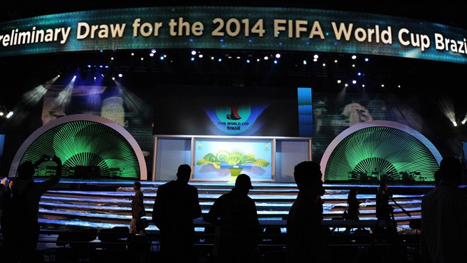 2014 FIFA World Cup seeding pots decided