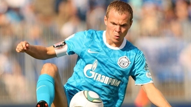 Zenit sign up Anyukov for another five years