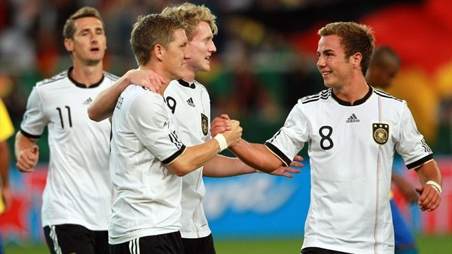 Germany down Brazil in Stuttgart goalfest