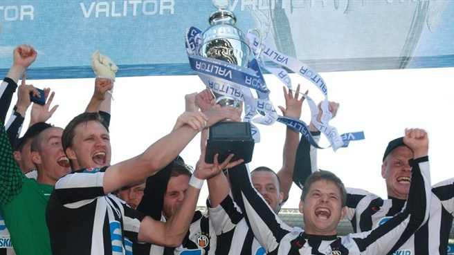 Ten-man KR seal record 12th Icelandic Cup win