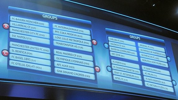 UEFA Champions League 2011/12  - Group stage