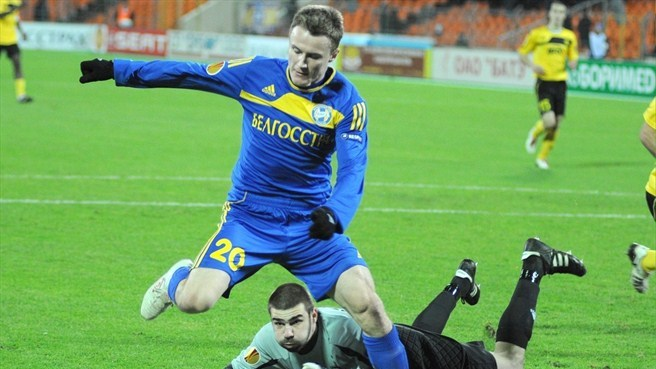 BATE striker Rodionov facing six months out