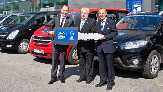 Hyundai revving up for Futsal EURO 2012