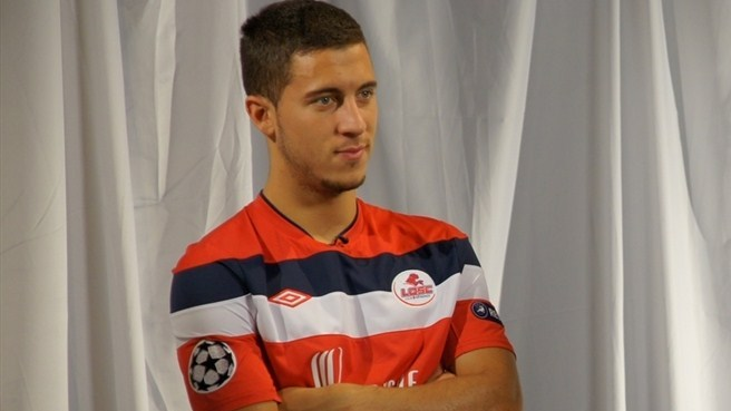 Lille's Hazard looks back and forward to Trabzonspor