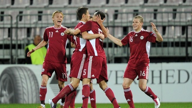 Latvia clinch home success against Malta