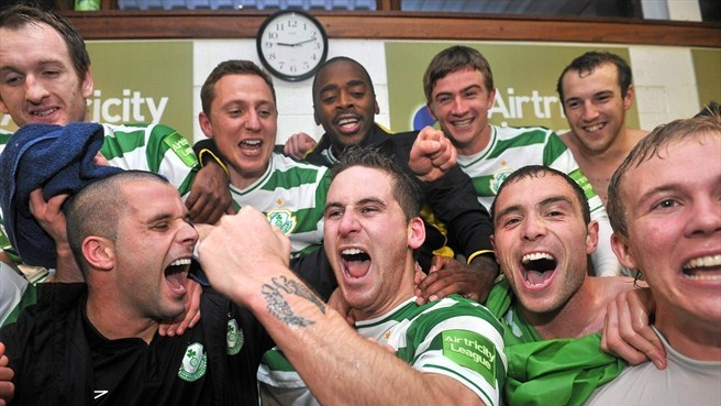 Shamrock Rovers retain Irish title