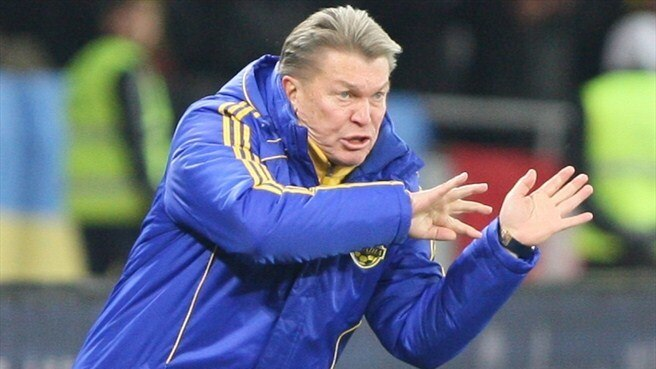 Blokhin to continue as Ukraine coach