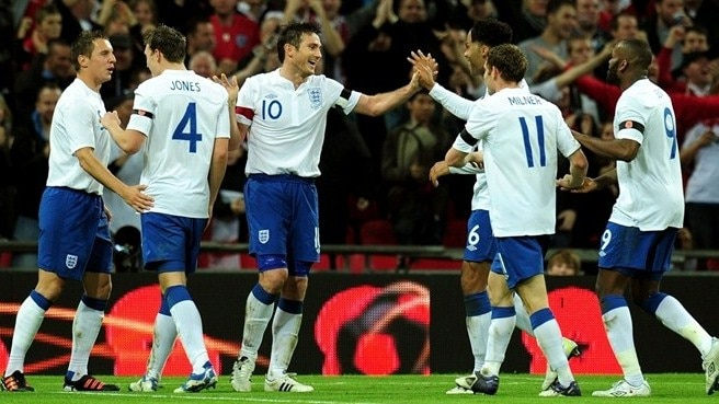 Lampard heads England to victory against Spain