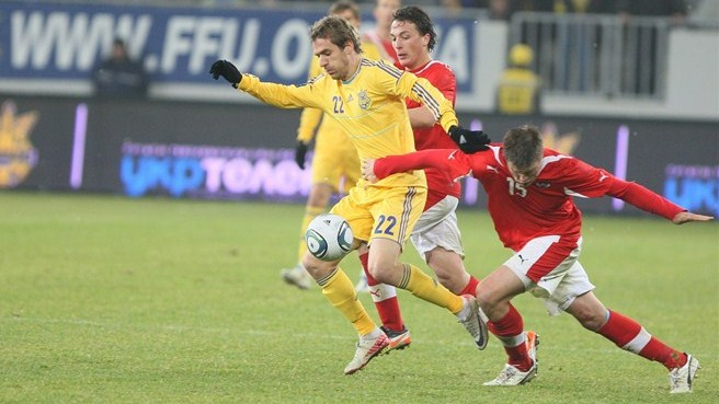 Ukraine leave it late to beat Austria