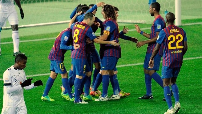 Barcelona march into world final