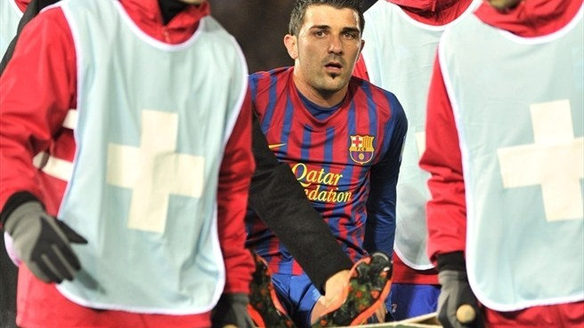 Villa fracture a blow for Barcelona and Spain