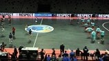 Italy and Turkey warm up