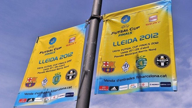 UEFA Futsal Cup ready for the off in Lleida