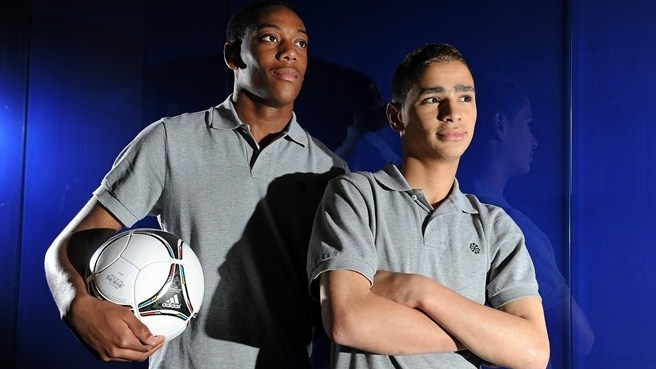 Class of 2004 inspires France's deadly duo