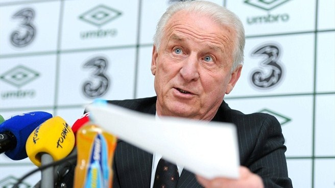 McCarthy out as Trapattoni names Ireland squad
