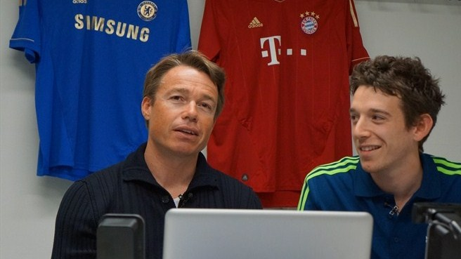 Le Saux hangs out with UEFA.com