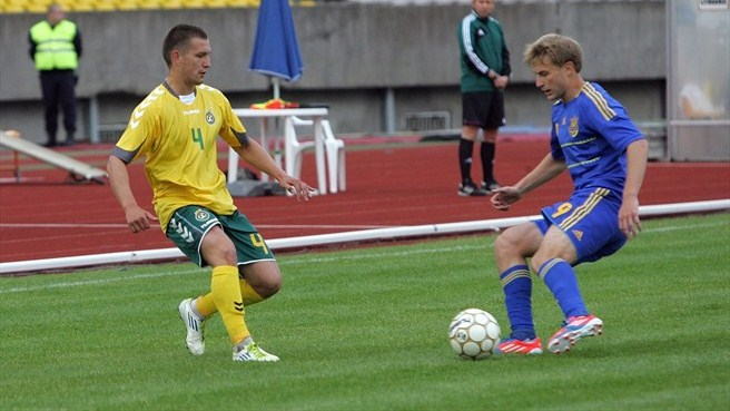 Lithuania secure slender victory against Ukraine