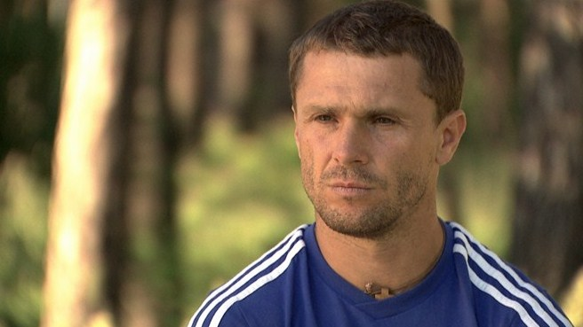 Rebrov discusses all things Shevchenko