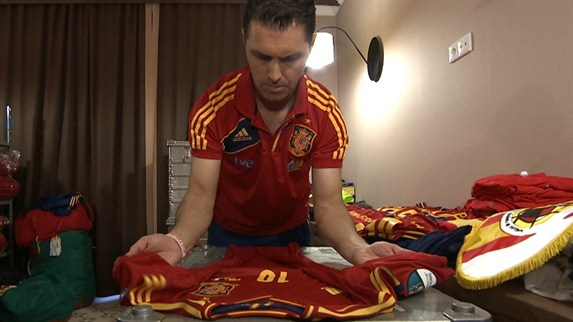 Spain kitted out for success