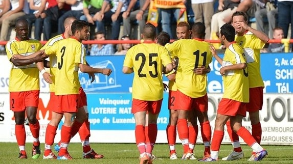 Growing Dudelange up against Salzburg