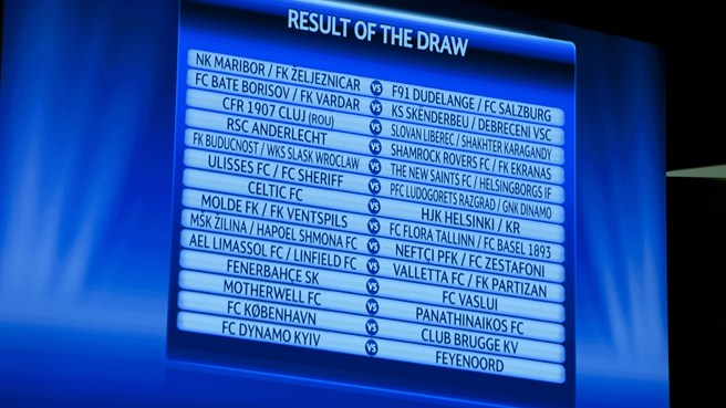 Dynamo drawn against Feyenoord