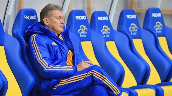 Ukraine coach Blokhin takes charge at Dynamo