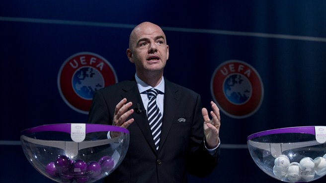 Growth of women's game delights Gianni Infantino