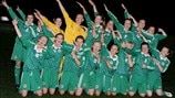 Northern Ireland celebrate
